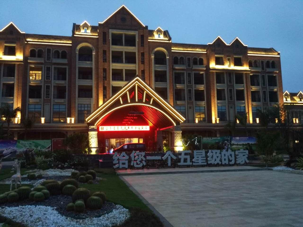 澄邁碧桂園鳳凰酒店亮化安裝
